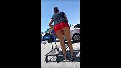 Marie Walmart parking lot