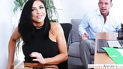naughty america Audrey Bitoni fucking in the office