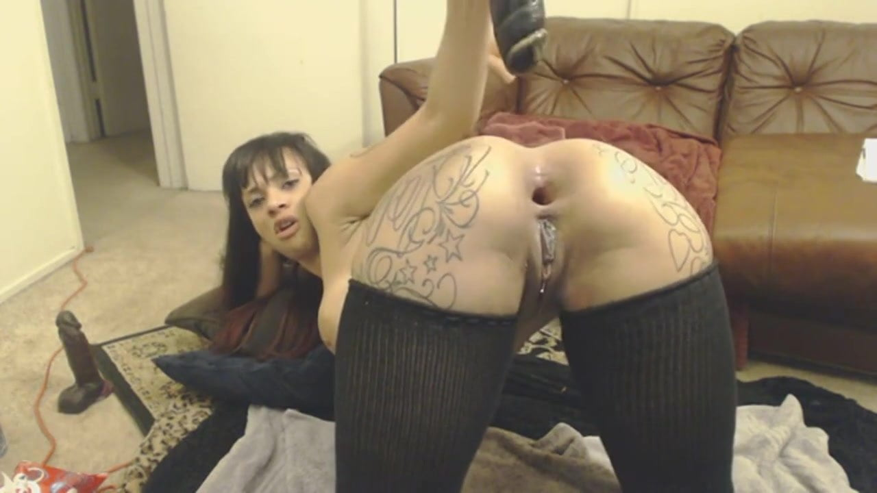 tattoued big butt squirt while anal, free porn 44: xhamster