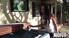 Ebony Babe's Anal Vacation - Mofos.com
