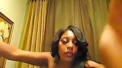 Sexy Pierced Boobs Ebony Gorgeous Teasing