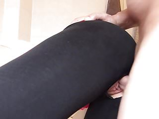 A horny woman in a dressed fuck