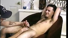 Amateur dilf loves sucking straight young dude