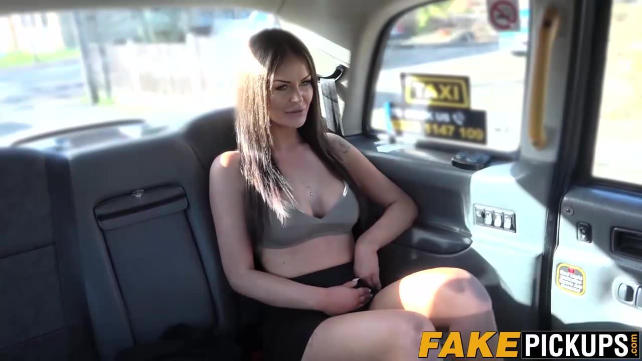 Femalefaketaxi filthy lesbian taxi cab fun and orgasms