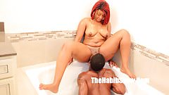 thickred phat booty taking bbc long stroke freaks