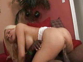 Black Cock Blonde Crista Moore