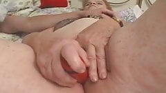 An ugly granny wants a young cock