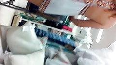 white dress thong no bra 3