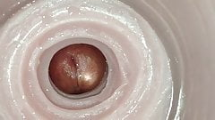 Super Ribbed Fleshlight Cum