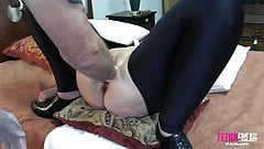 Fetish Freak Scene Pussy boxed and punch fisted extreme hard