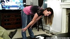 A strict punishment strapping