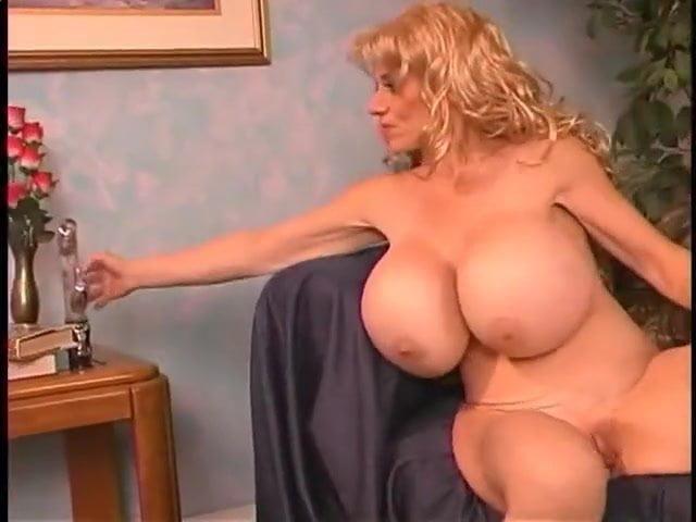 Short Hair Brunette Huge Tits