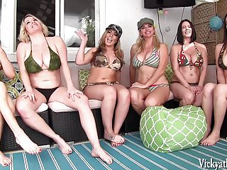Vicky Vette S Neighborhood Orgy  Girls