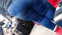 Fat spanish pawg phat ass in them jeans, pt.1