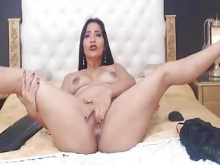 Hot and Sexy Webcam Babe Fucks Ass with Dildo
