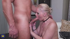 Amateur mother gets anal and vaginal sex
