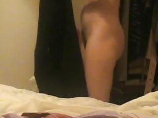Hidden cam - French woman in bedroom part 2