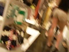 Hot Blonde Shopping