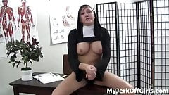 Stroke your big cock to our naked bodies JOI