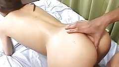 Miku Adachi has asshole and pussy fingered and sucks penises