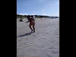 Granny At The Nude Beach