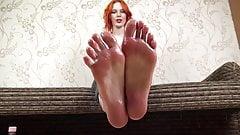 Oily big soles