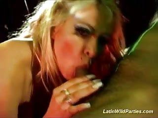 Latin wild parties hard group fuck and oral sex deep