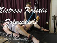 Crossdresser Slave Training Dominatrix Mistress Kristin BDSM