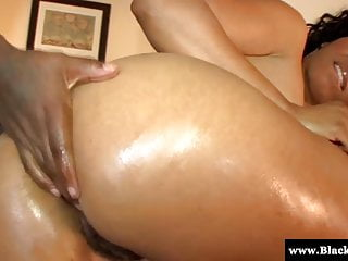 Big ass ebony babe Anita Peida drilled