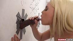 Big Black Cock Glory Hole With Brooke Summers