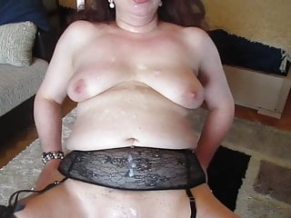 Ugly Arab Mix Russian MILFCovered in Spunk.