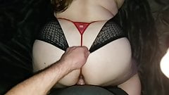 Pawg Angel 1234 Red Thong