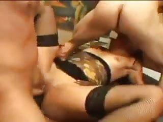 she like double cocks in every hole