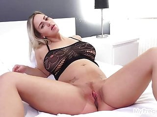 Nathaly Cherie Fucks Herself With Her Purple Vibrator