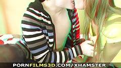 Porn Films 3D - A natural born cock rider