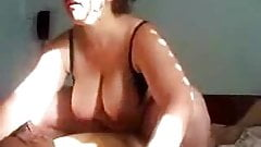 Fat mature woman on top