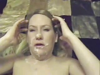 Chubby blonde girlfriend cumshots cumpilation