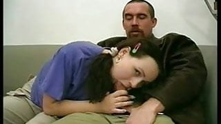 2 man& experienced cutie made lesson at 2 innocent Virgins