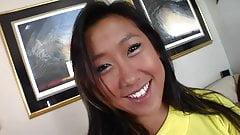 Facial for asian teen