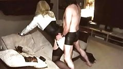 crossdresser follada en saten