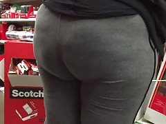 Bbw wide hips and ass in tights Thumbnail