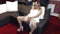 In white again