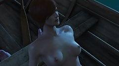 Shani Witcher 3 sex scene
