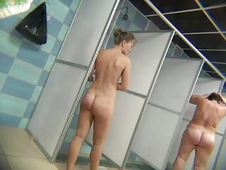 Hidden Cam: Shower Room Part 8