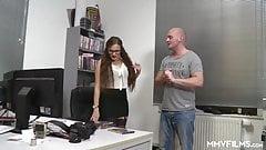 German Office Anal Pounding