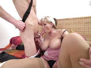 Taboo sex son seduce lovely mature mother