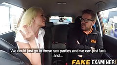 Busty British MILF gets banged by her lucky instructor