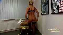 Busty blonde secretary is fucked by her boss
