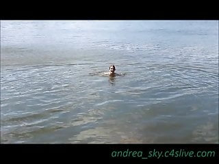 Skinny Dipping At A Park Andrea Sky