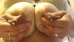 Boob drop and lactation